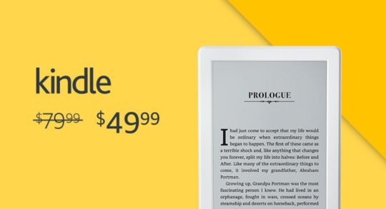 Save big on Kindle during Prime Day 2017