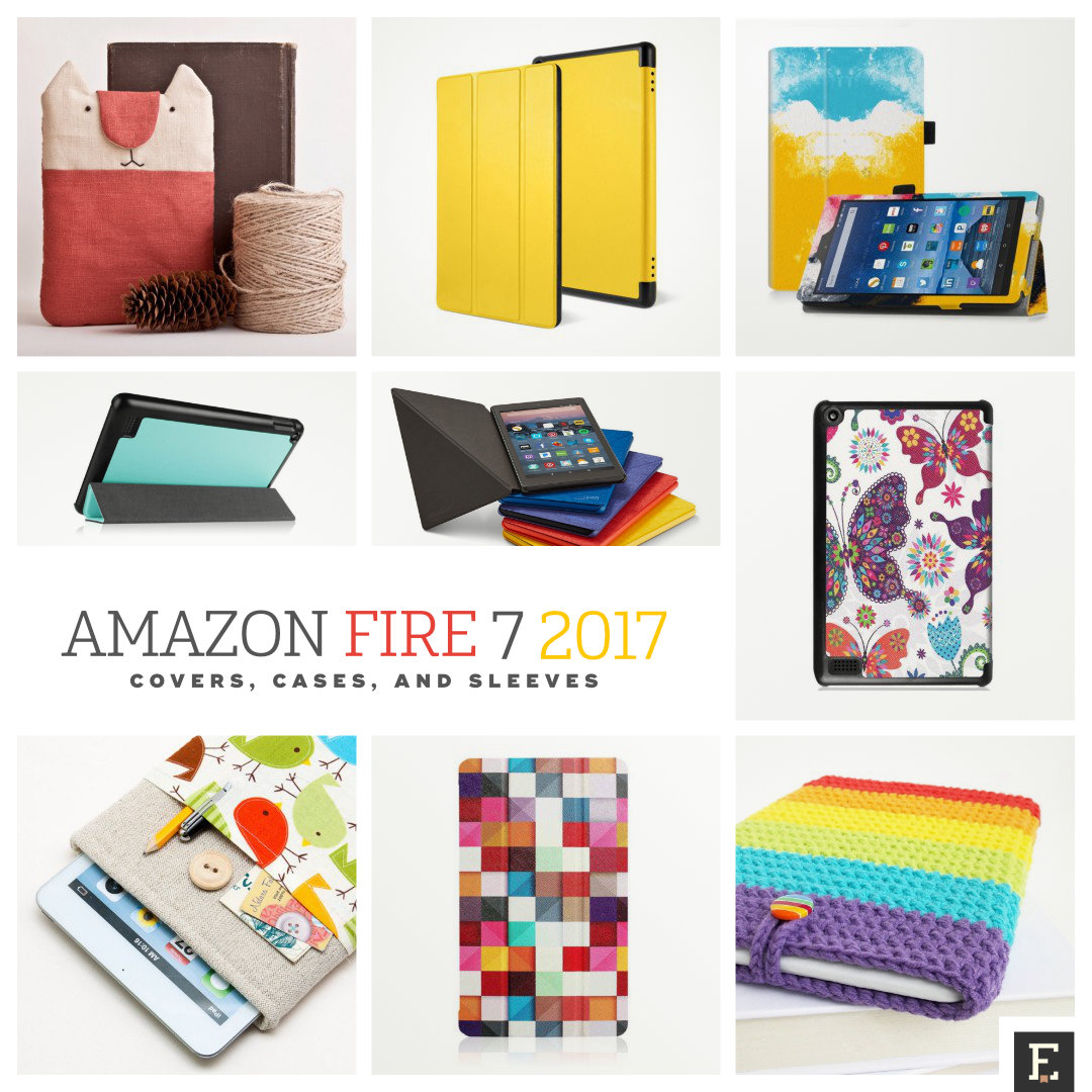 The best Amazon Fire 7 (2017 release) cases, covers, and sleeves