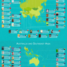 The most iconic book set in every country around the world #infographic