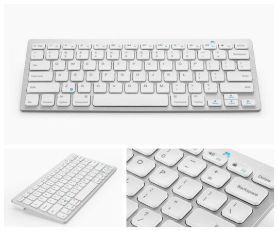 Anker Bluetooth Ultra-slim Keyboard for iPad and other mobile devices
