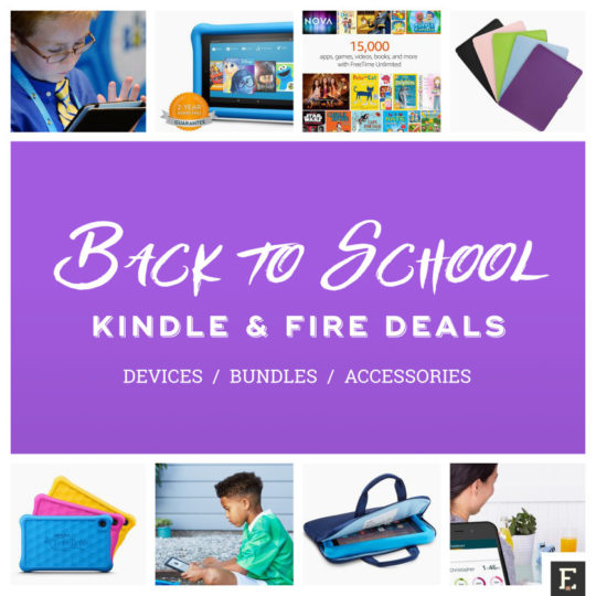 Back-to-school 2017 Kindle and Fire deals - devices, bundles, accessories