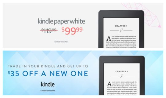 Kindle deals - back-to-school 2017 on Amazon