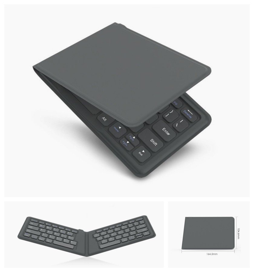 MoKo Universal Foldable Bluetooth Keyboard - works with the iPad or iPhone