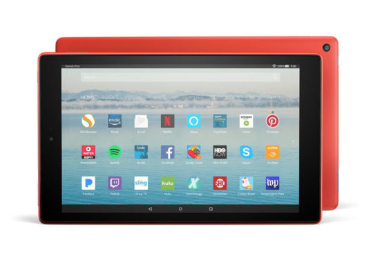 All-new Amazon Fire HD 10 launches on October 11, 2017