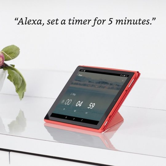 Amazon Fire HD 10 2017 with Alexa hands-free