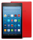 Amazon Fire HD 8 tablet (2017 release) 16GB in Punch Red