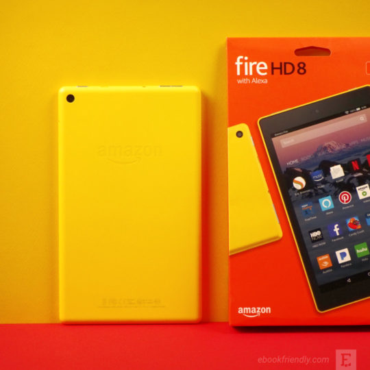 Amazon Fire HD 8 unboxing - photo 3