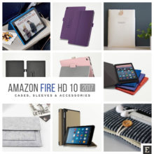 Amazon Kindle Fire HD 10 2017 cases, sleeves, and accessories