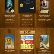 Captivating quotes from award-winning children's books from the past decade #infographic