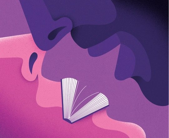 Illustrations about books - Dale Edwin Murray - The kiss
