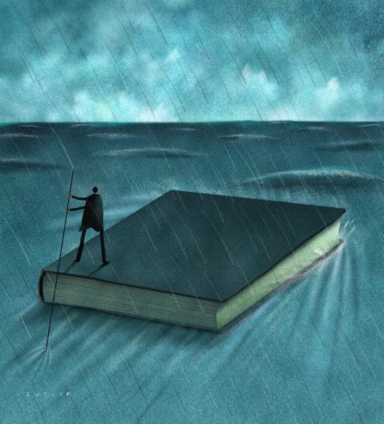 Illustrations about books - Dave Cutler - Sail safe