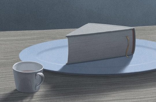 Illustrations about books - Jungho Lee - Enjoy reading