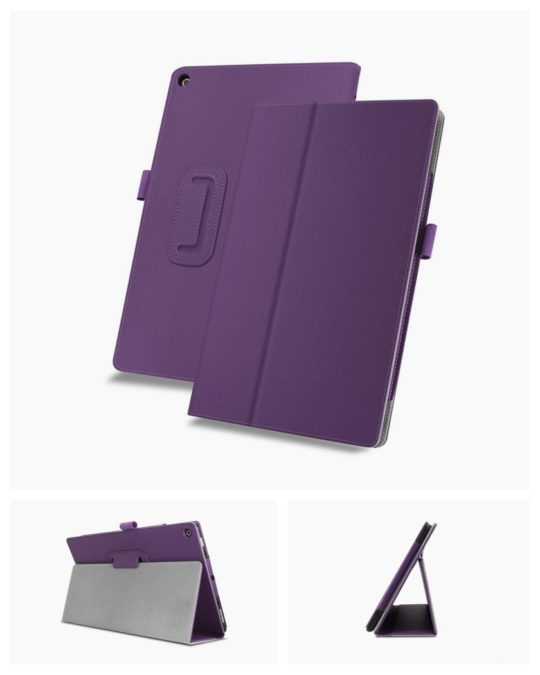 Infiland Premium Case for Amazon Kindle Fire HD 10 Tablet (7th generation - 2017 release)