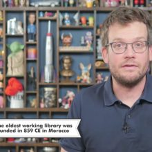 John Green 26 facts about libraries - video thumb