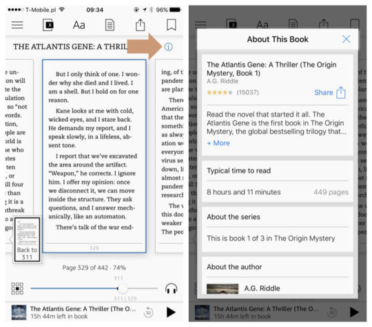 Kindle for iOS - About the Book