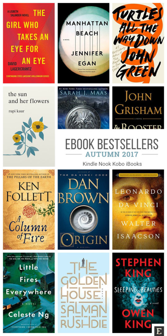 12 most talked about ebook bestsellers of fall 2017 fandeluxe Image collections