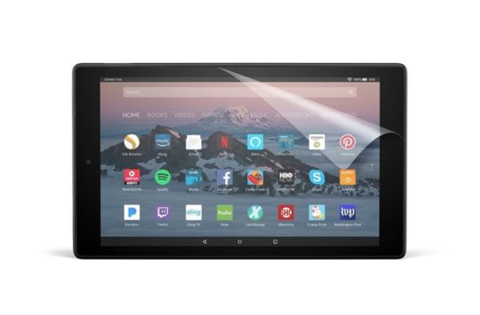 NuPro Anti-Glare Screen Protector for Amazon Fire HD 10 Tablet 2017
