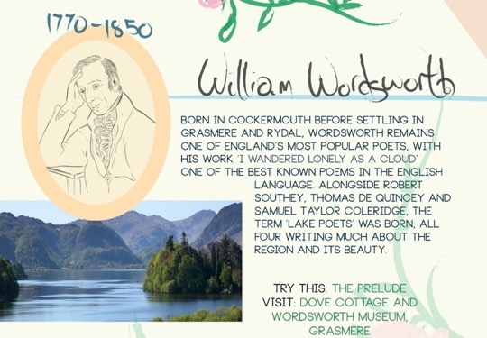 The literary lakes - William Wordsworth