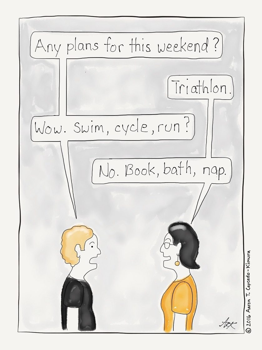 What are your plans for the weekend? #cartoon