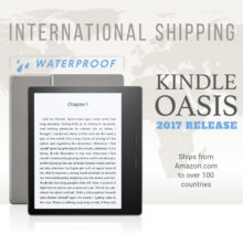 2nd-generation Kindle Oasis ships internationally on October 31, 2017