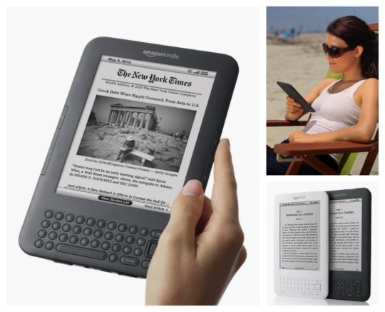 3rd-generation Amazon Kindle started shipping on August 27, 2010