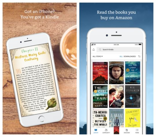 New Kindle apps for Android and iOS are all about the look