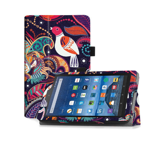 Famavala Folio Case Cover for Kindle Fire 7-inch tablet
