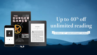 Kindle Unlimited 10th Anniversary Deal 2017