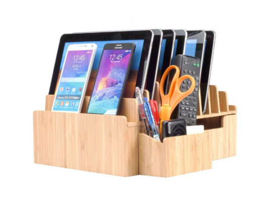 MobileVision 10-port charging station for tablets, smarpthones, Kindle, and other electronic devices