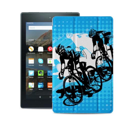 Nuyea Ultraslim Case for Amazon Fire HD 8 Tablet