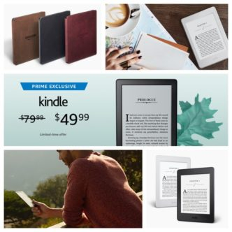 Prime-exclusive deals on Kindle models including Oasis - October 2017
