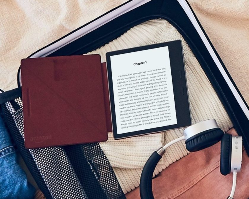 The 2017 Kindle Oasis is ready to play Audible audiobooks via Bluetooth-enabled headphones or speakers