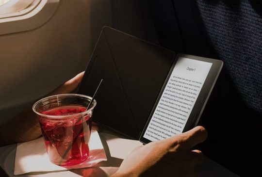 You won't damage your Kindle Oasis if you accidentally spill a drink on it
