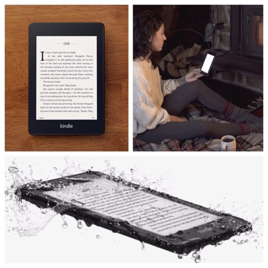 A history of Kindle e-readers - Amazon Kindle Paperwhite 4th generation is launched in November 2018