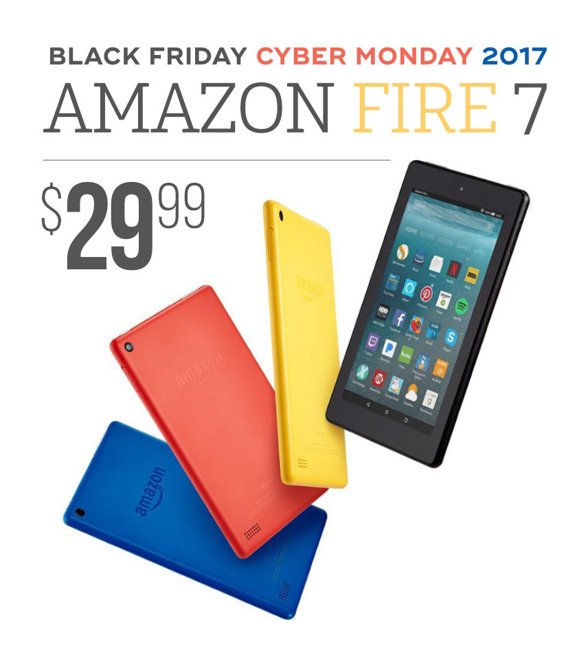 this black firday the price of amazon fire 7 tablet drops to. Black Bedroom Furniture Sets. Home Design Ideas