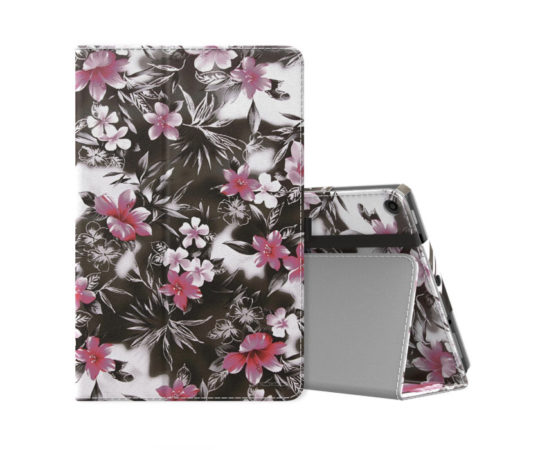 Amazon Fire HD 10 2017 cases from MoKo: Classic Folio Stand Case