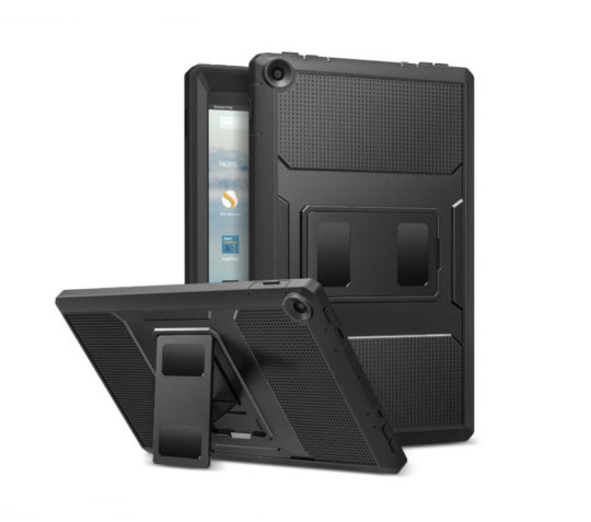 Amazon Fire HD 10 2017 cases from MoKo - Heavy-duty Rugged Shockproof Case