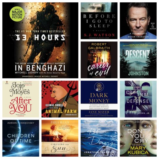 Audible Cyber Monday deal - save up to 75% on 400 audiobooks