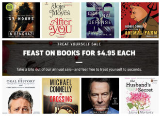 Audible deal for Cyber Monday 2017 - over 400 audiobooks are $4.95 each