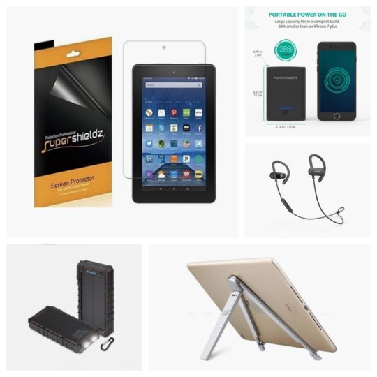 Best Cyber Monday 2017 deals and special offers on Fire tablet accessories - chargers, screen protectors, cables, stands