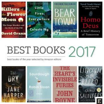 Best print and Kindle books of 2017 selected by Amazon editors