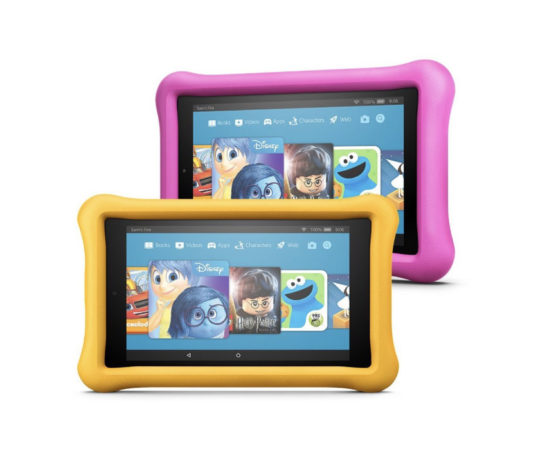 Buy two Amazon Fire 7 Kids Edition tablets and save $50 - Christmas 2017 deals