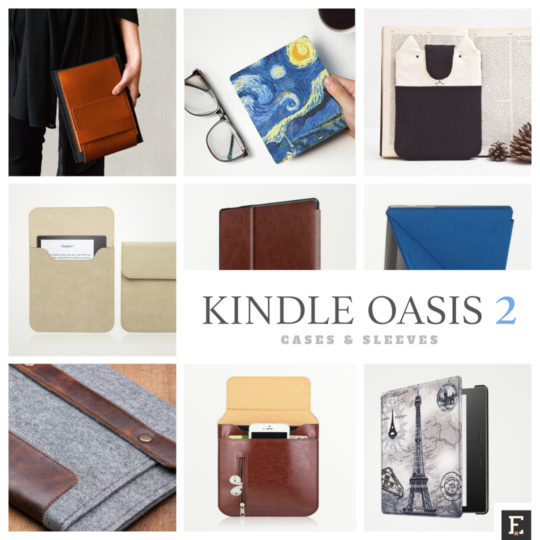 Case covers and sleeves for Kindle Oasis 2 (9th-generation Kindle, 2017 release)