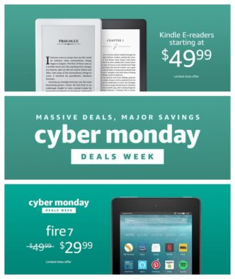 Cyber Monday 2017 - Amazon Fire and Kindle deals on one place