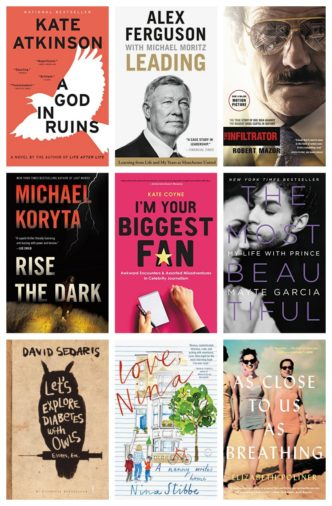 Kindle Daily Deal, November 19, 2017 - top celebrity picks are $2.99 each