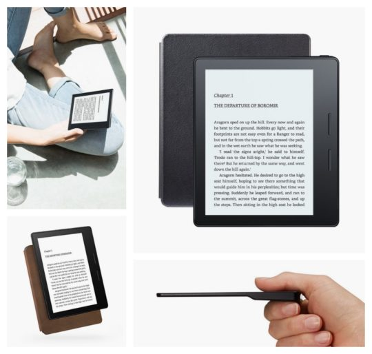 Kindle Oasis 1 starts shipping on April 27, 2016