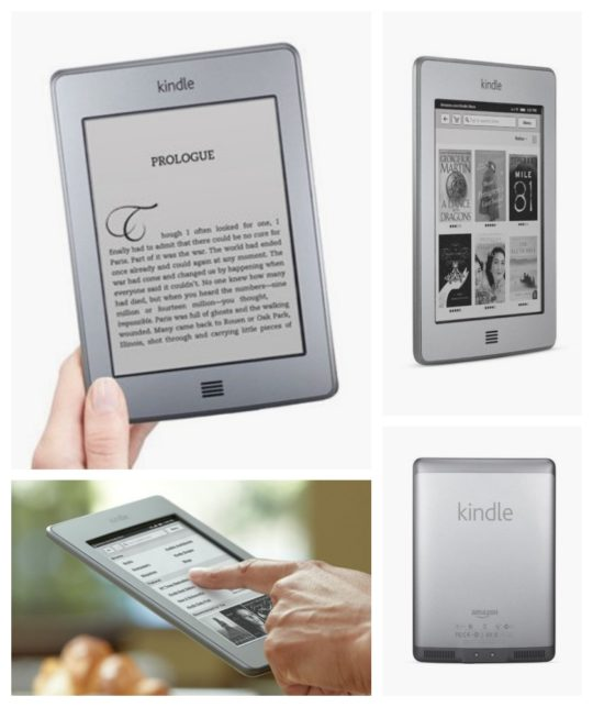 Kindle Touch started shipping on November 15, 2011