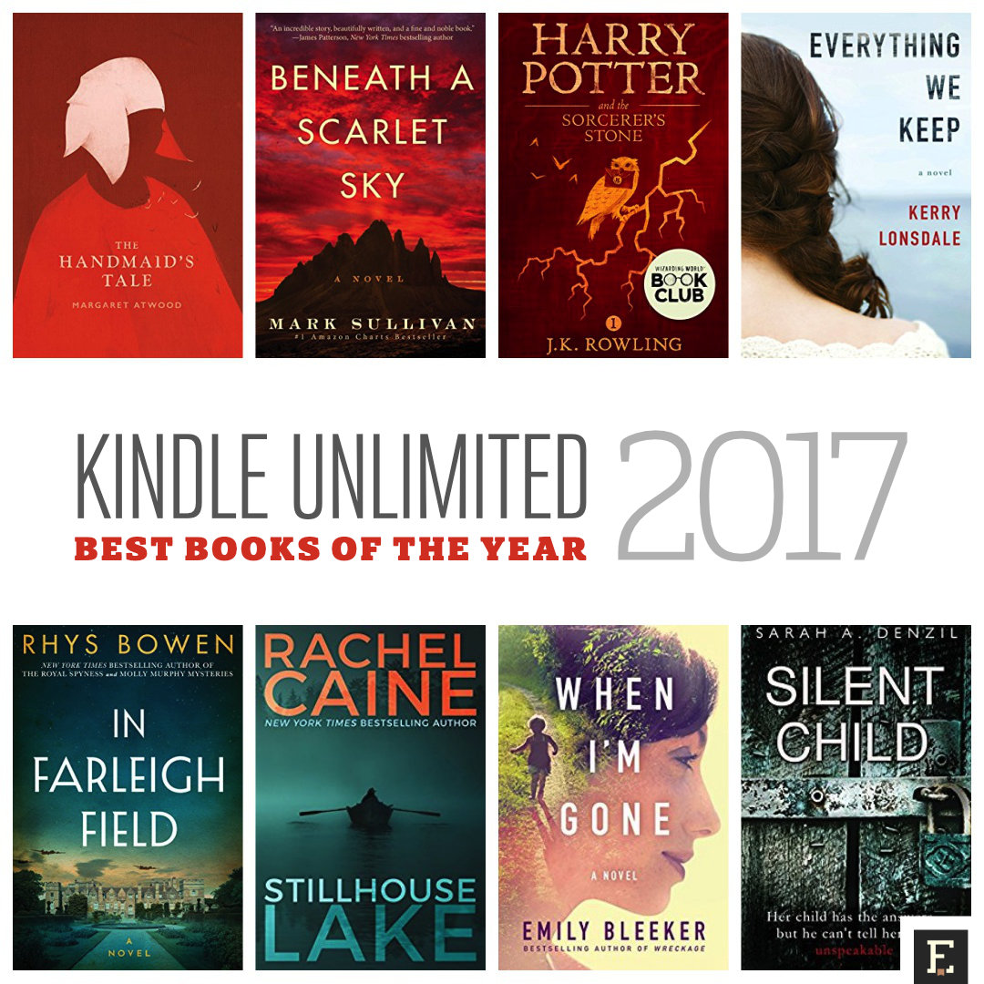 Most popular Kindle Unlimited books of 2017