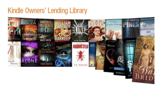 November 2011 - introduction of Kindle Owners' Lending Library