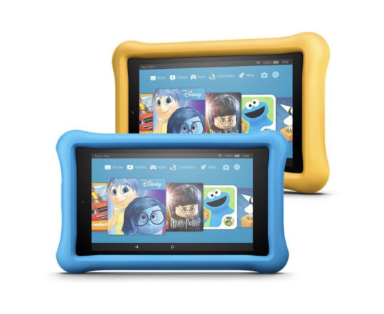 Save $50 when you buy Amazon Fire HD 8 Kids Edition Two-Pack